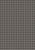 Artificial perforated metal plate Royalty Free Stock Photos