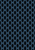 Artificial perforated metal plate Stock Photo