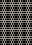 Artificial perforated metal plate royalty free stock photo