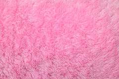 Artificial pink fur background Royalty Free Stock Photos