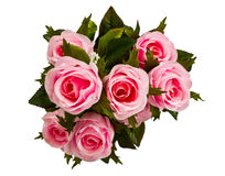 Artificial pink rose Stock Photo