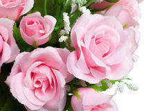 Artificial pink rose Stock Image