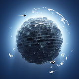 Artificial planet Royalty Free Stock Image