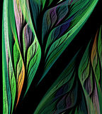 Artificial plant illustration. Computer generated this image Stock Images