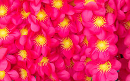 Artificial red flowers Stock Photography