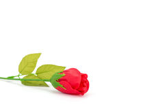 Artificial Red rose Royalty Free Stock Photo