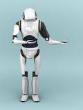 Artificial robot. Stock Photography