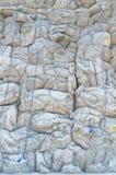 Artificial rock climbing wall Stock Photography