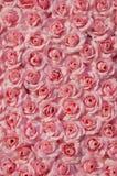 Artificial rosado se levantó imágenes de archivo libres de regalías