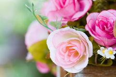 Artificial rose Stock Images