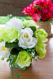 Artificial Rose Flowers Royalty Free Stock Photos