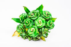 Artificial Rose, Made of Pandan Royalty Free Stock Photo