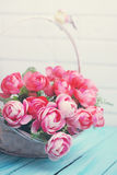 Artificial roses Stock Photography