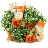 Artificial roses bouquet Royalty Free Stock Photo