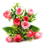 Artificial roses bouquet Royalty Free Stock Photography