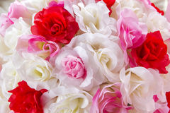Artificial roses. Artificial roses for decorative event Royalty Free Stock Photography