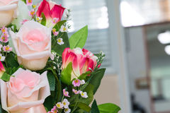 Artificial roses Royalty Free Stock Photos