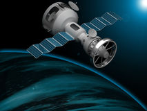 Artificial satellite Royalty Free Stock Images