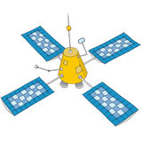 Artificial satellite Stock Images