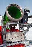 Artificial Snow Cannon Stock Photography
