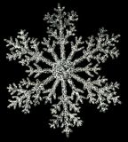 Artificial snowflake Stock Photo