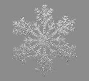 Artificial snowflake Stock Images