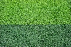 Artificial Soccer Field Royalty Free Stock Photography