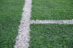 Artificial Soccer Field Royalty Free Stock Image