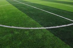 Artificial Soccer Field Royalty Free Stock Photos