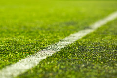 Artificial soccer pitch Stock Photography