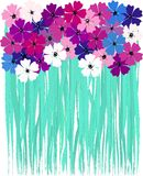 Artificial spring flower illustration Stock Photography