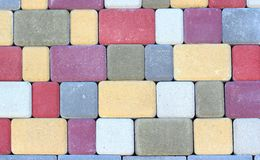 Artificial stone Royalty Free Stock Images