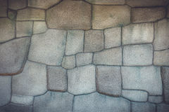 Artificial stone wall texture and background Royalty Free Stock Photos