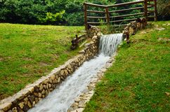 Artificial stream Royalty Free Stock Photo