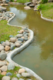 Artificial stream Royalty Free Stock Image