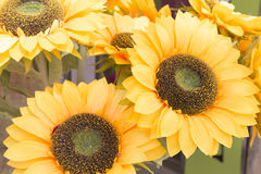 Artificial sunflower Royalty Free Stock Photo
