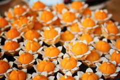 Artificial thai desserts. Royalty Free Stock Photography