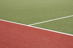 Artificial turf Stock Photography