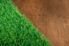 Artificial turf close-up Stock Image