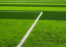 Artificial turf football Royalty Free Stock Photos