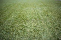 Artificial turf football,soccer field. Stock Photos