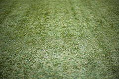 Artificial turf football,soccer field. Royalty Free Stock Photo