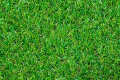 Artificial turf soccer field Royalty Free Stock Images