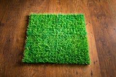 Artificial turf tile Royalty Free Stock Photos