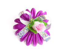 Artificial violet flower Royalty Free Stock Image