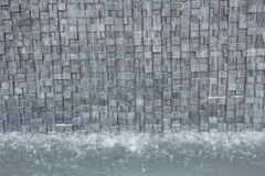 Artificial waterfall Royalty Free Stock Photo