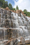 Artificial waterfall, China, Qinhuangdao Royalty Free Stock Photos