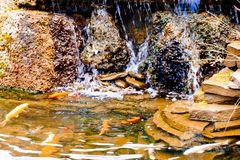 Artificial waterfall Royalty Free Stock Photos