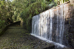 Artificial waterfall, Mexico Stock Photography