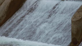 Artificial Waterfall stock video